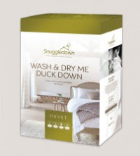 Wash & Dry Me Duck Down Pillows & Duvets